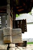 Junta de madera de la casa Imagen de archivo