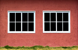 Junta janelas Foto de Stock