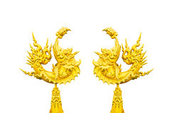 Goldenfish isolou-se, arte Imagens de Stock Royalty Free