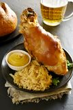 Junta Roasted da carne de porco imagens de stock royalty free