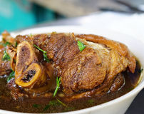 Junta Stewed da carne de porco Foto de Stock Royalty Free