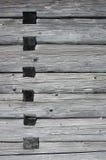 Juntas de madera en una casa fotografía de archivo libre de regalías