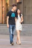 Junte el área de compras del ina que camina, Shangai, China Imagen de archivo