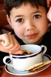 Junte-se me para o cereal saudável. Imagens de Stock Royalty Free