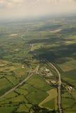 juntions moterway Великобритания Стоковая Фотография RF