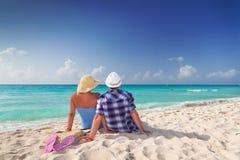 Junto em feriados perfeitos Foto de Stock