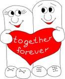 Junto por siempre Fotos de archivo