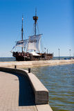 Medeltida utforma segelbåten Fotografering för Bildbyråer