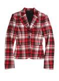 Jupe checkered rouge Images libres de droits