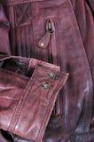 Jupe en cuir. images stock
