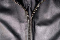 Jupe en cuir noire images libres de droits