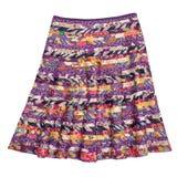 Jupe indienne colorée de style Photo stock