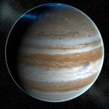 Jupiter Stock Image