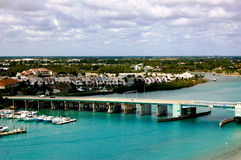 Jupiter Florida Aerial View Stock Images