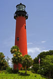 Jupiter Inlet Lighthouse Stock Photo