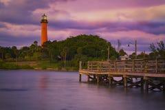 Jupiter Inlet Lighthouse royalty free stock photography