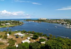 Jupiter Inlet Royalty Free Stock Photos
