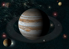 jupiter księżyc s Zdjęcia Stock