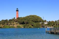 Jupiter Lighthouse Royalty-vrije Stock Foto