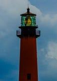 Jupiter Lighthouse en la luz de la mañana Foto de archivo libre de regalías