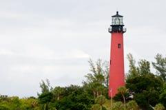 Jupiter lighthouse in Florida Royalty Free Stock Photos