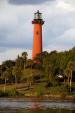 Jupiter Lighthouse in Florida Royalty Free Stock Photography