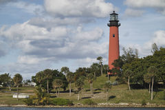 Jupiter Lighthouse, Landscape Stock Photography