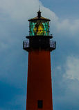The Jupiter Lighthouse in the Morning Light Royalty Free Stock Photo