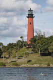 Jupiter Lighthouse, Portrait Royalty Free Stock Photo