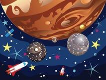 Jupiter Planet Imagenes de archivo