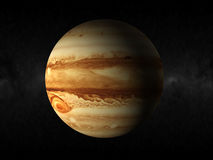 Jupiter planet. 3d rendering of the planet jupiter Royalty Free Stock Photo