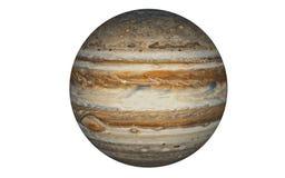 Jupiter Planet aisló en blanco fotos de archivo