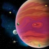 Jupiter planeta Obrazy Royalty Free