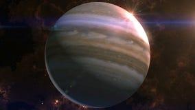 Jupiter Reveal nello spazio stock footage