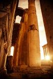 Jupiter's temple  Baalbek, Lebanon Royalty Free Stock Image
