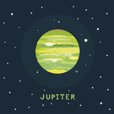 JUPITER space view Royalty Free Stock Photography