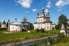 Jur'ev-Pol'skij Arcangelo Michael Monastery Immagini Stock
