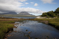 Jura from Islay at Bunnahabhain Stock Photo