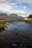Jura from Islay at Bunnahabhain Stock Photos