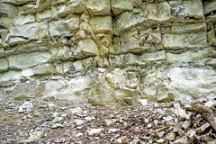 Jura limestone shifts of the Swabian Alb Stock Images