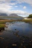 Jura od Islay przy Bunnahabhain zdjęcia stock