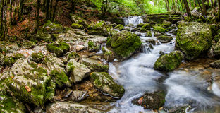 Jura Riverscape, Frankrike mig Fotografering för Bildbyråer