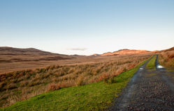 Jura road Royalty Free Stock Image