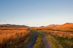 Jura road Royalty Free Stock Images