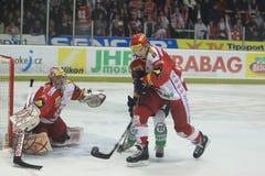Juraj Valach - Slavia Prague vs. Mlada Boleslav Royalty Free Stock Image