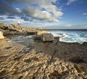 Jurajski wybrzeże Fotografia Royalty Free