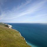 Jurajski wybrzeże w Dorset Fotografia Royalty Free