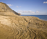 Juraküste Stockfotografie