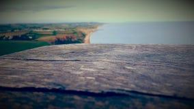 Juraküste stockfoto