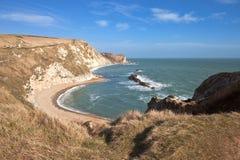 Juraküste in Dorset England Lizenzfreie Stockbilder
